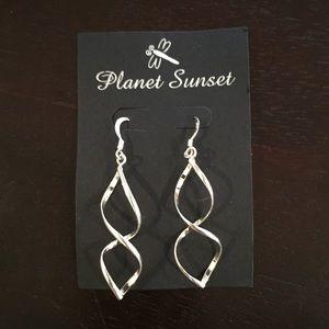 Planet Sunset Sterling Silver earrings